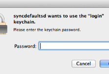 PowenKo, Mac Tutorial,  password,Syncdeaultsd ask me login keychain all the time.
