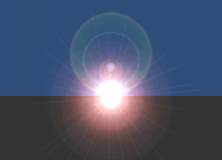 PowenKo, Unity Tutorial, Light,  Lens Flare