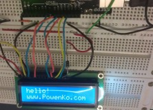 PowenKo > Arduino > LCD > display powenko.com