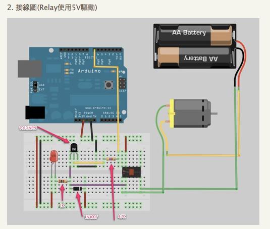 Powenko gt hardware arduino begin 繼電器控制實驗 柯博文