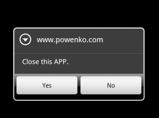 PowenKo > Android > AlertDialog