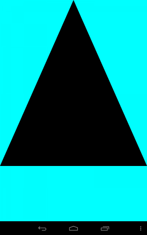 NDK, OpenGL ES ,The first triangle | PowenKo 柯博文